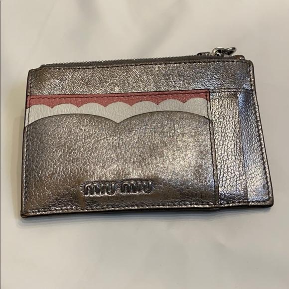 Miu Miu card holder wallet